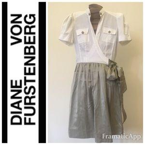 DVF Wrap Shirt Dress
